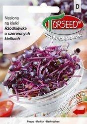 Rzodkiewka o czerwonych kiełkach - Nasiona na kiełki 20 g