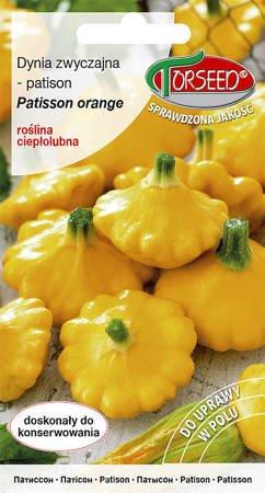 Dynia zwyczajna - Patisson Orange 1 g