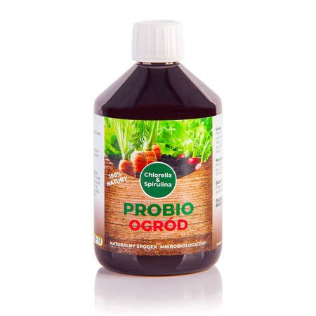 PROBIO Ogród Chlorella & Spirulina   500ml